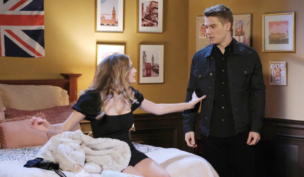 Allie remembers meeting Tripp in London on Days of Our Lives