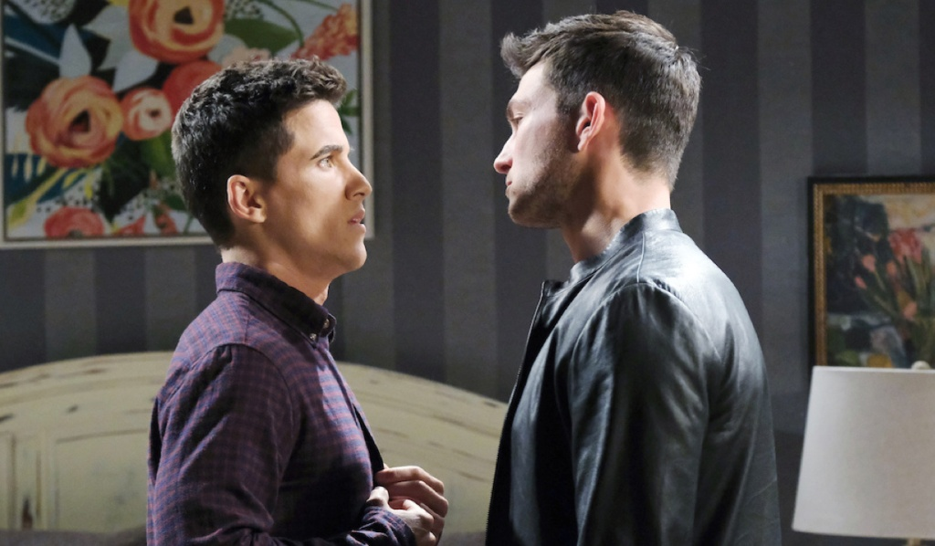 Ben warns Charlie on Days of Our Lives