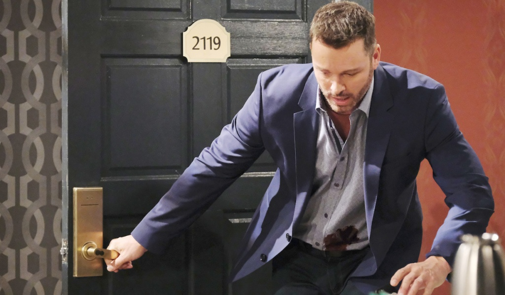 Brady is shot on Days of Our Lives