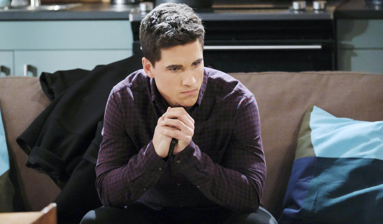 The walls close in on Charlie on Days of Our Lives