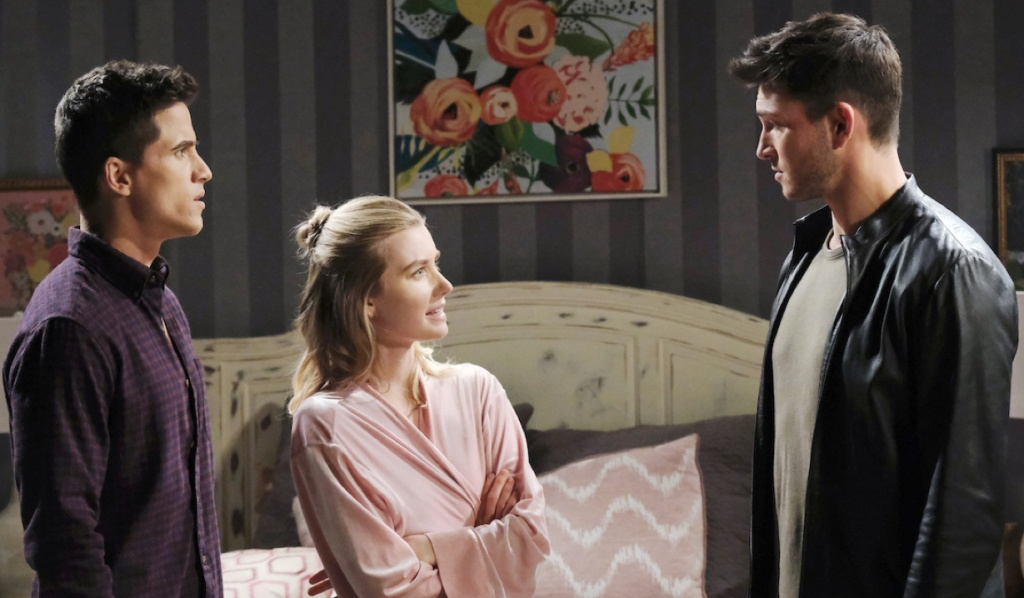 Claire defends Charlie to Ben on Days of Our Lives