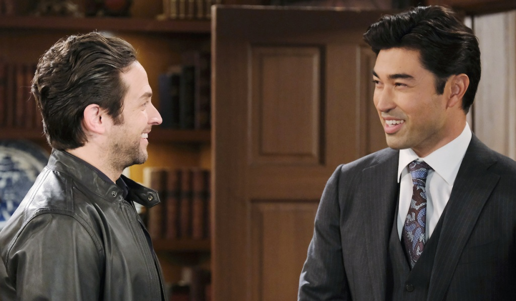 Li Shin makes Jake CEO on Days of Our Lives