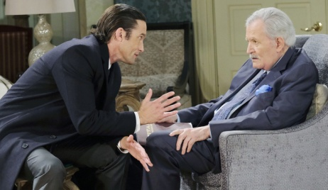 Philip pleads his case to Victor on Days of Our Lives