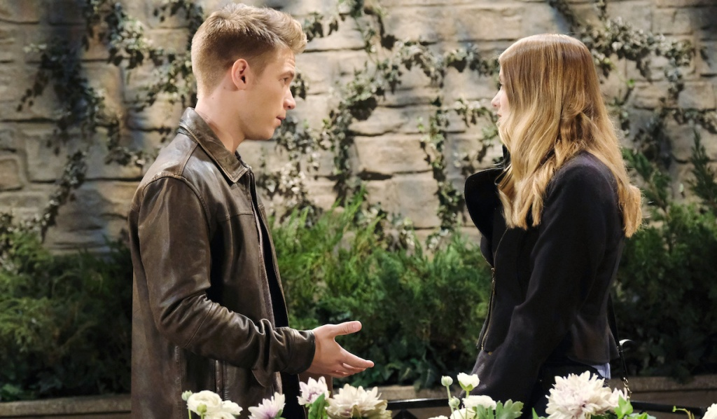 Tripp tells Claire about Steve's investigation on Days of Our Lives
