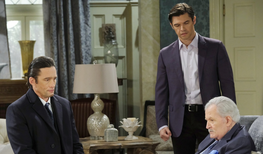 Xander rats Philip out to Victor on Days of Our Lives