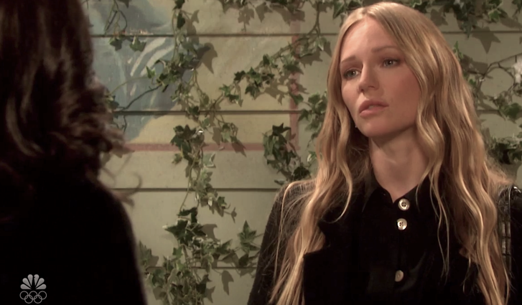 Abigail enlists Gabi's help on Days of Our Lives