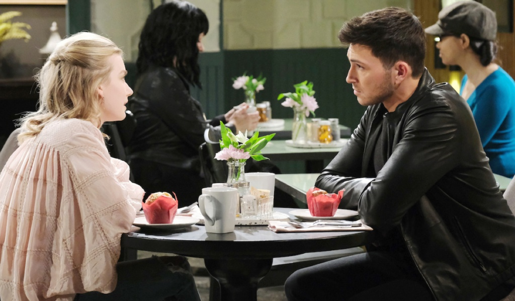 Ben and Claire discuss Ciara on Days of Our Lives
