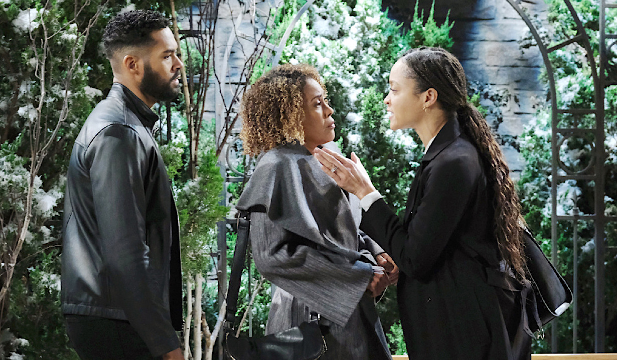 Eli and Lani press Raynor for answers on Days of Our Lives