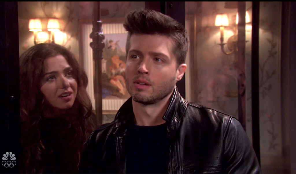 Evan reveals himself to Ciara on Days of Our Lives