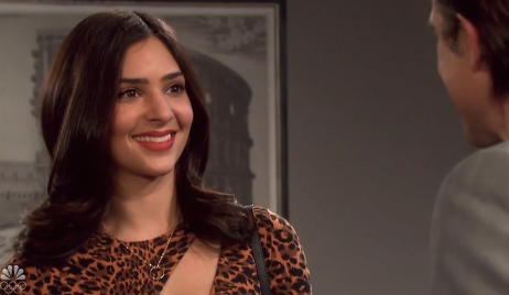 Gabi and Philip make a deal on Days of Our Lives