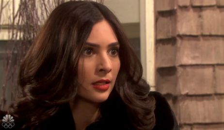 Gabi irate on Days of Our Lives