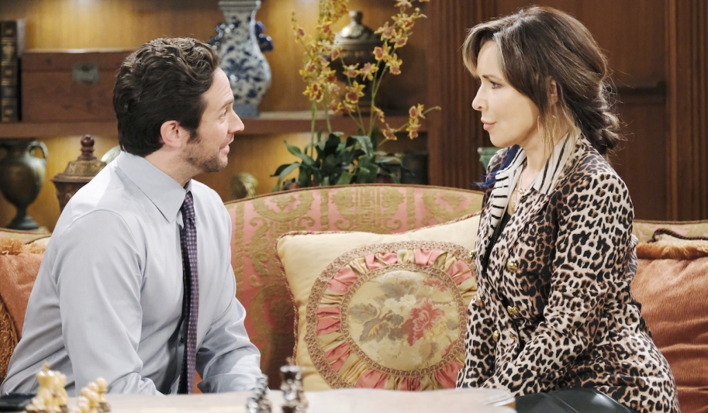 Jake offers Kate a job on Days of Our Lives