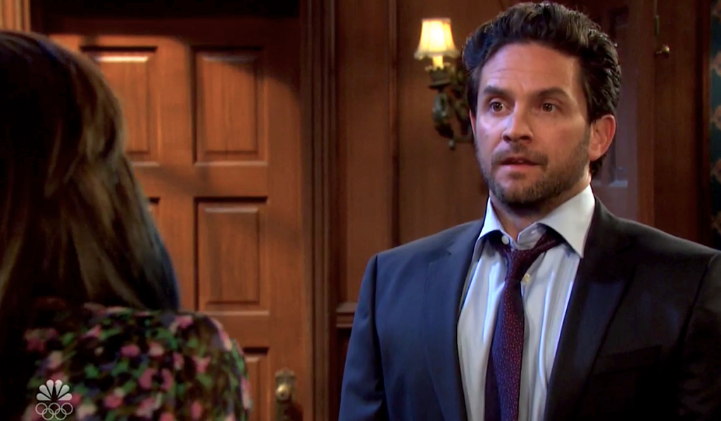 Jake talks Kate down on Days of Our Lives