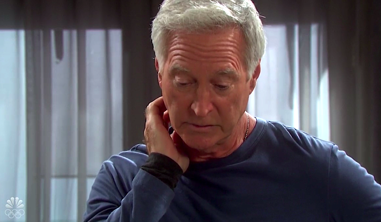 John looks guilty on Days of Our Lives