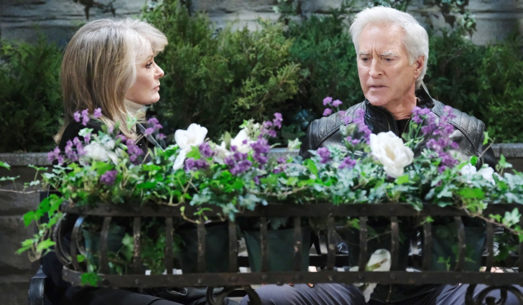 Marlena is worried about John on Days of Our Lives