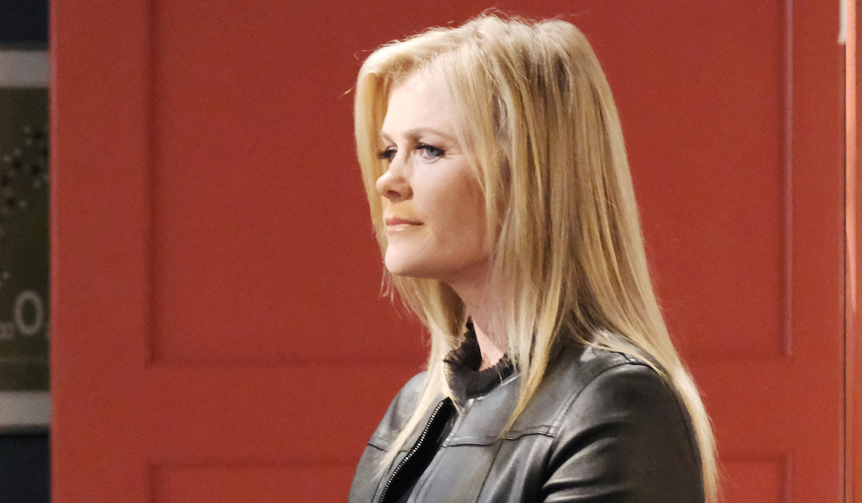 Sami shows up at Charlie's place on Days of Our Lives