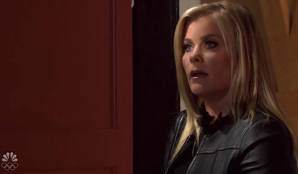Sami shows up at Charlie's on Days of Our Lives