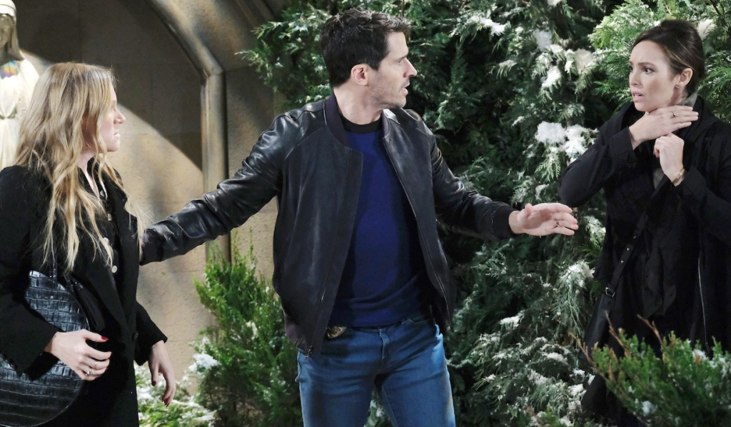 Shawn breaks up Abigail and Gwen on Days of Our Lives