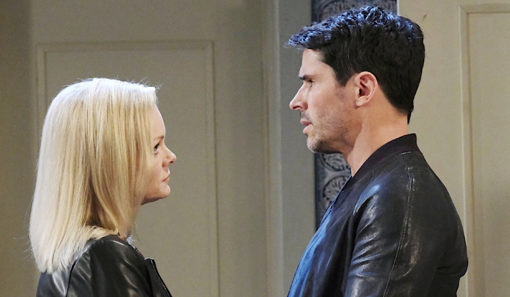 Shawn consoles Belle on Days of Our Lives