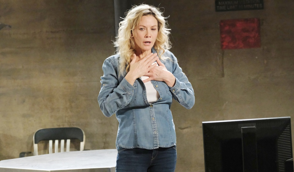 Susan gets used to being Kristen on Days of Our Lives