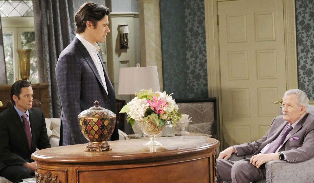 Xander quits Titan on Days of Our Lives