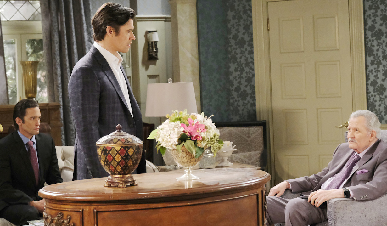 Xander quits on Days of Our Lives