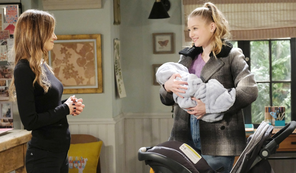 Allie introduces Ava to Henry on Days of Our Lives