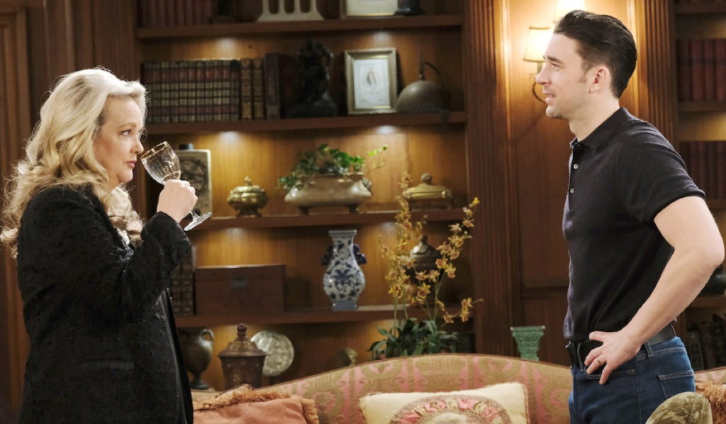 Anna remains coy with Chad on Days of Our Lives
