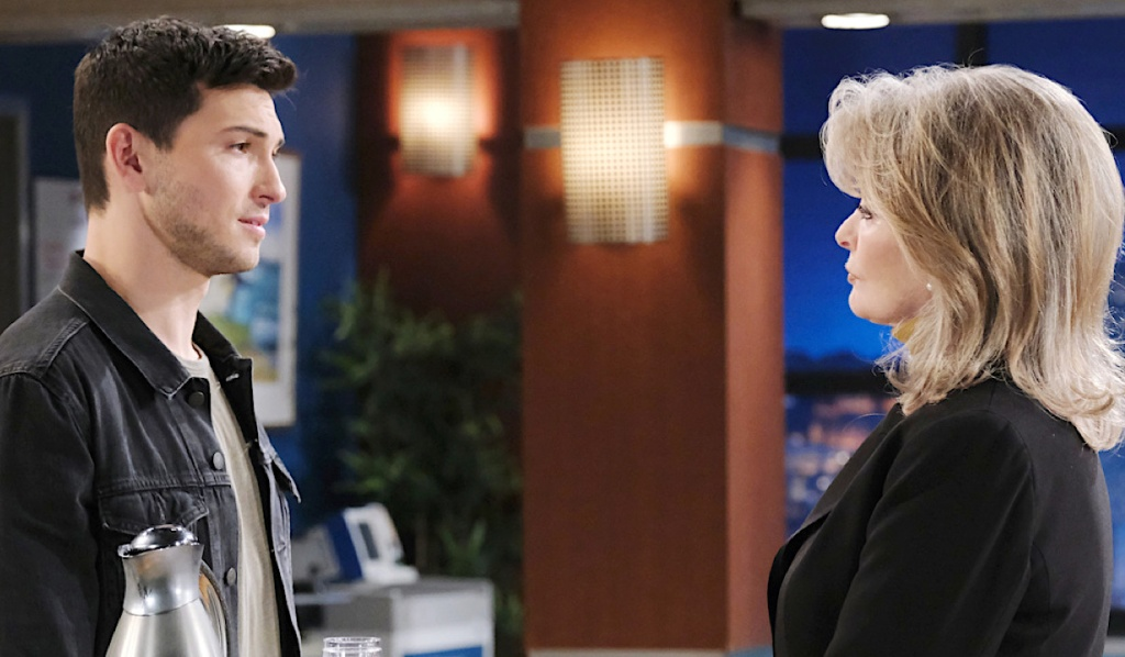 Ben appeals to Marlena at the hospital on Days of Our Lives