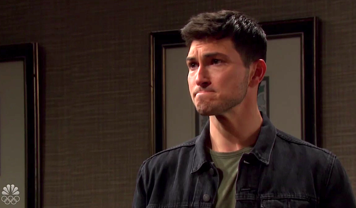 Ben is distraught talking about Ciara on Days of Our Lives