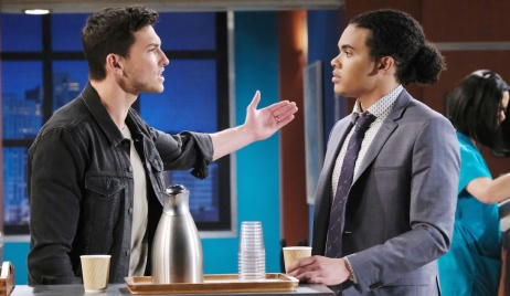 Ben confronts Theo on Days of Our Lives