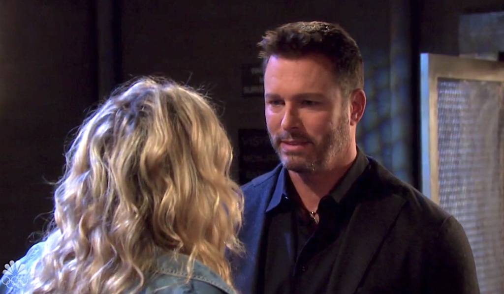 Brady visits Susan as Kristen on Days of Our Lives
