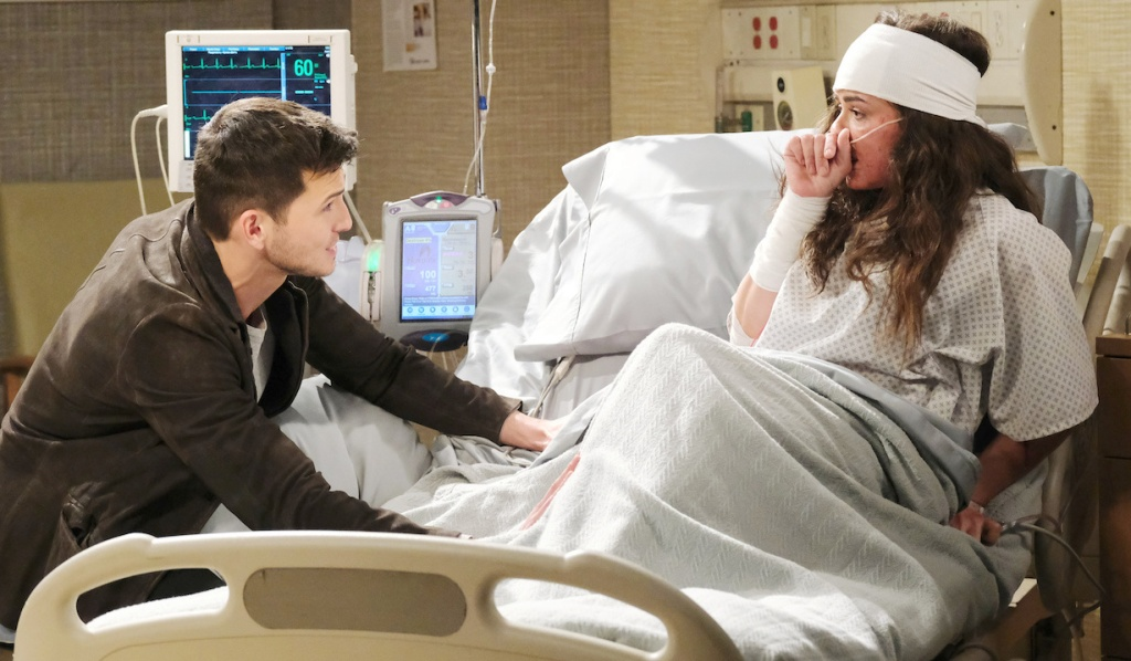 Ciara recoils from Ben on Days of Our Lives