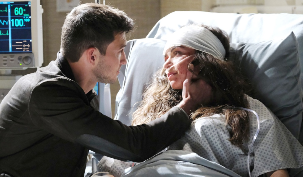 Ciara wakes up to Ben on Days of Our Lives