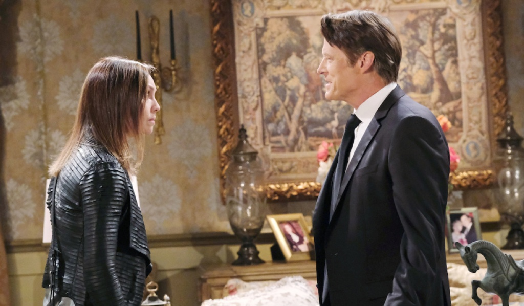 Jack learns the truth from Gwen on Days of Our Lives