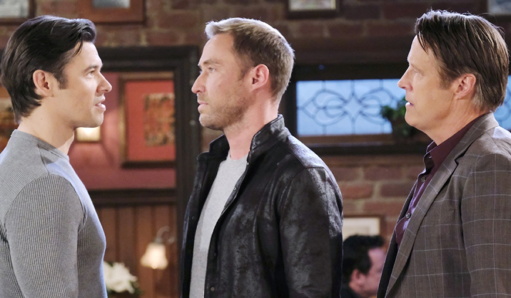 Jack watches Xander and Rex face off on Days of Our Lives