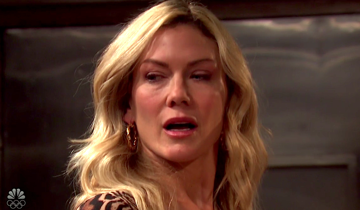 Kristen gives side-eye on Days of Our Lives