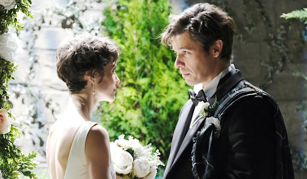 Sarah and Xander's fantasy wedding on Days of Our Lives