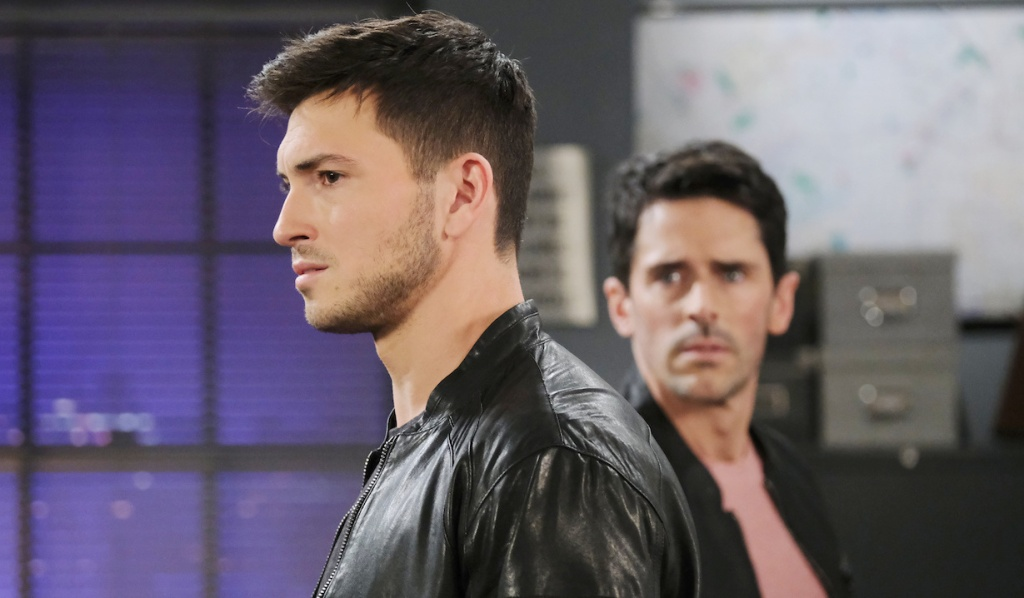 Shawn furrows his brow at wistful Ben on Days of Our Lives