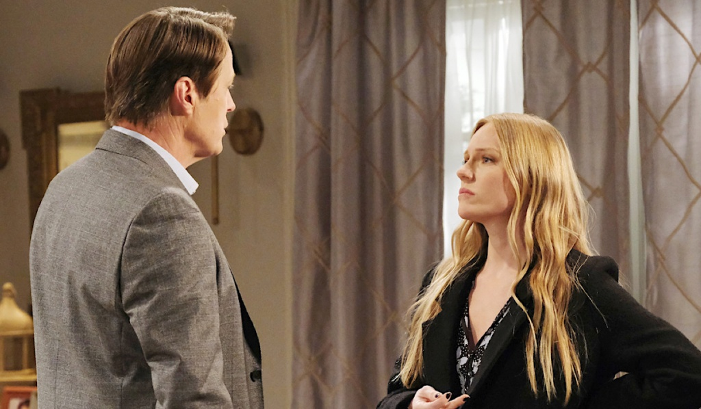 Abigail is defiant while talking with Jack on Days of Our Lives