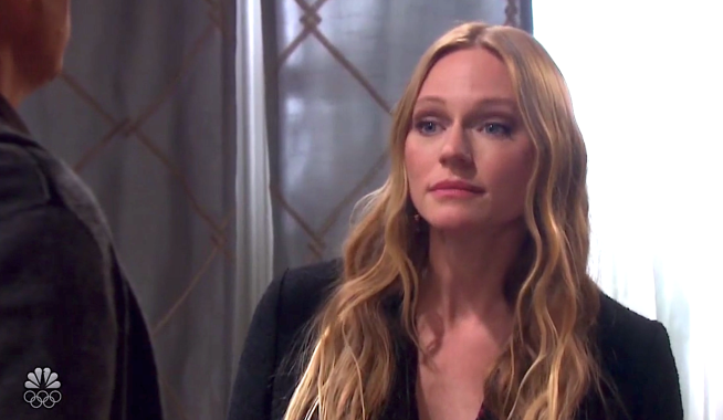 Abigail learns Gwen is pregnant on Days of Our Lives