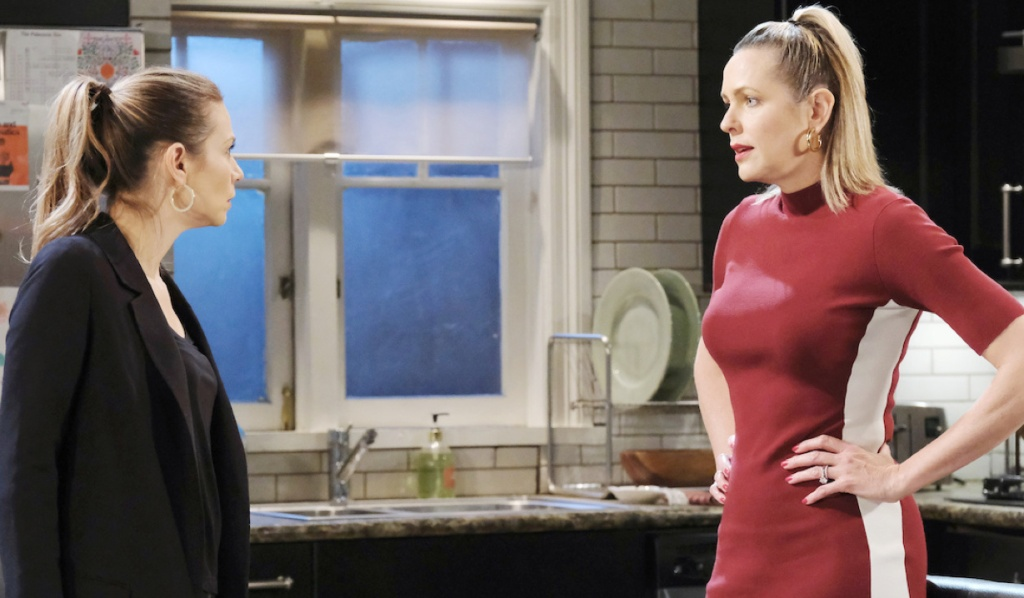 Ava and Nicole argue on Days of Our Lives