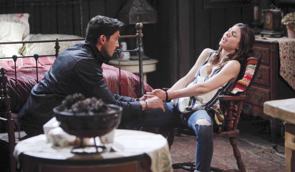 Ben kidnaps Abigail on Days of Our Lives