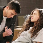 Ben comes close to injecting Ciara with Rolf's drug on Days of Our Lives