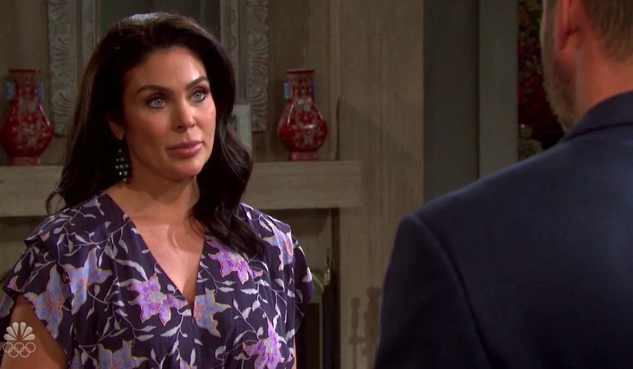 Chloe hears Brady's confession on Days of Our Lives
