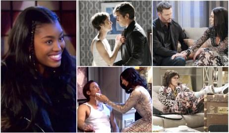 Chanel, Phabi, Xarah, Broe, Kristen on Days of Our Lives