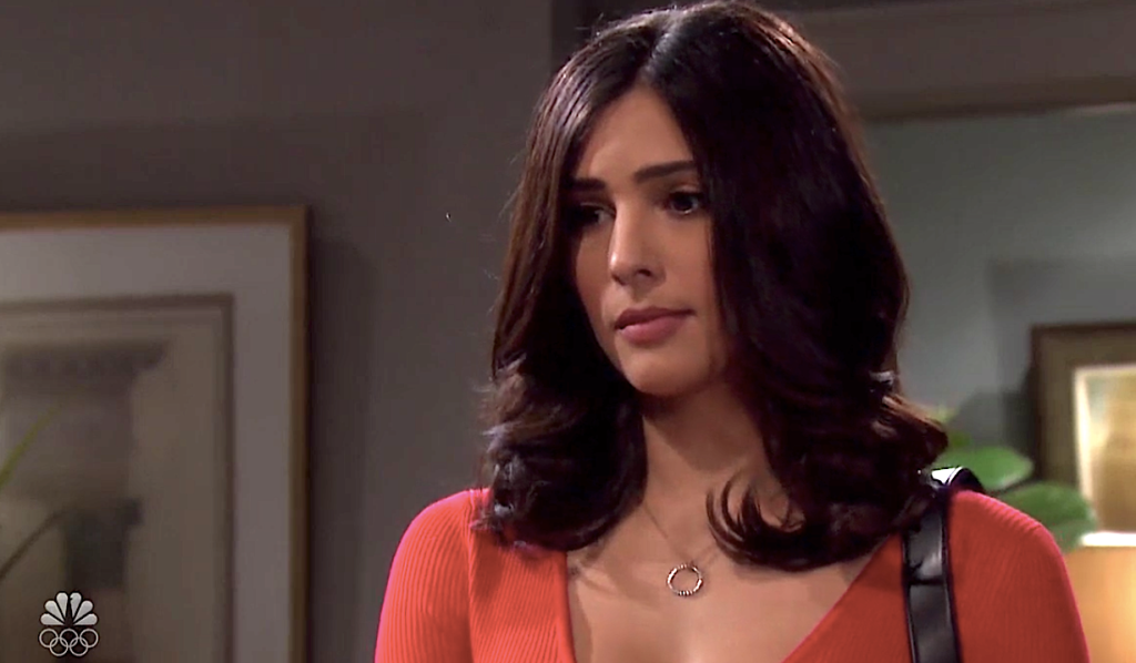 Gabi considers Philip's offer on Days of Our Lives