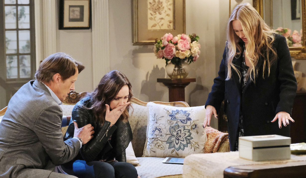 Abigail horrified after Gwen gets sick on Days of Our Lives