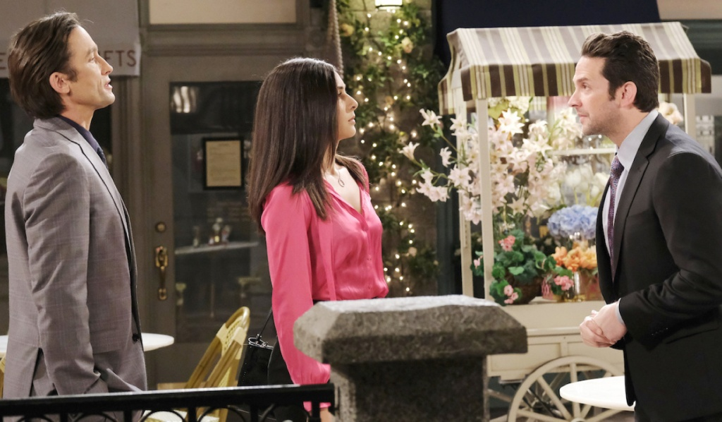 Jake rails at Gabi and Philip on Days of Our Lives