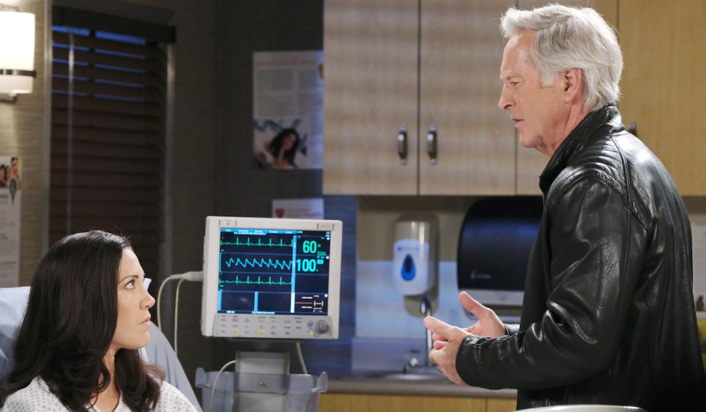 John faces Jan at the hospital on Days of Our Lives